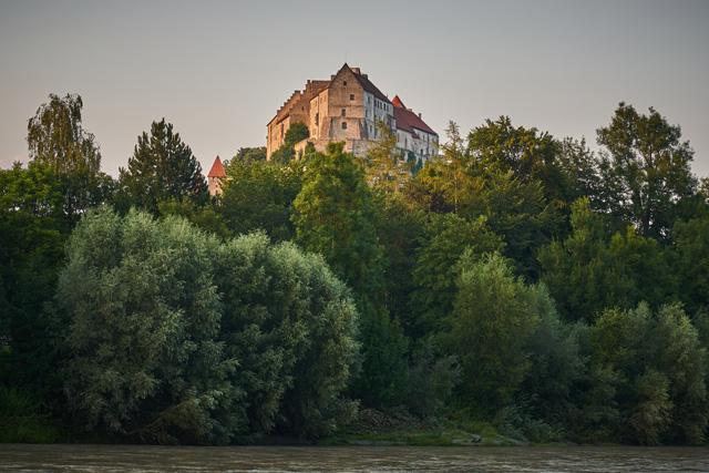 Burg Burghausen über der Salzach