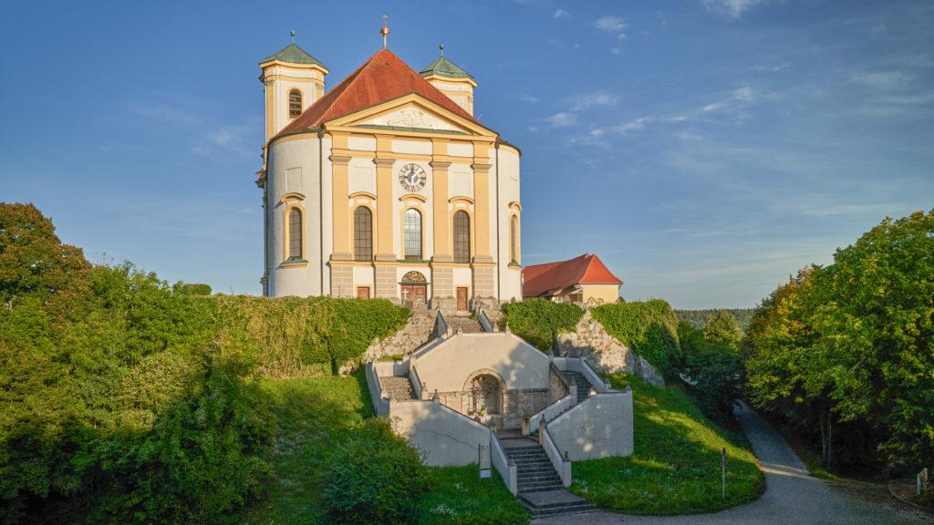 D_AÖ_Marienberg_01_Wallfahrtskirche Marienberg (Dirschl Johann)