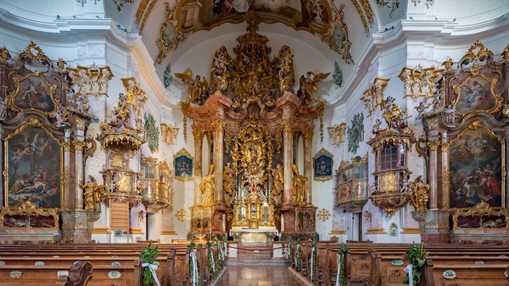 D_AÖ_Marienberg_03_Wallfahrtskirche Marienberg (Dirschl Johann)