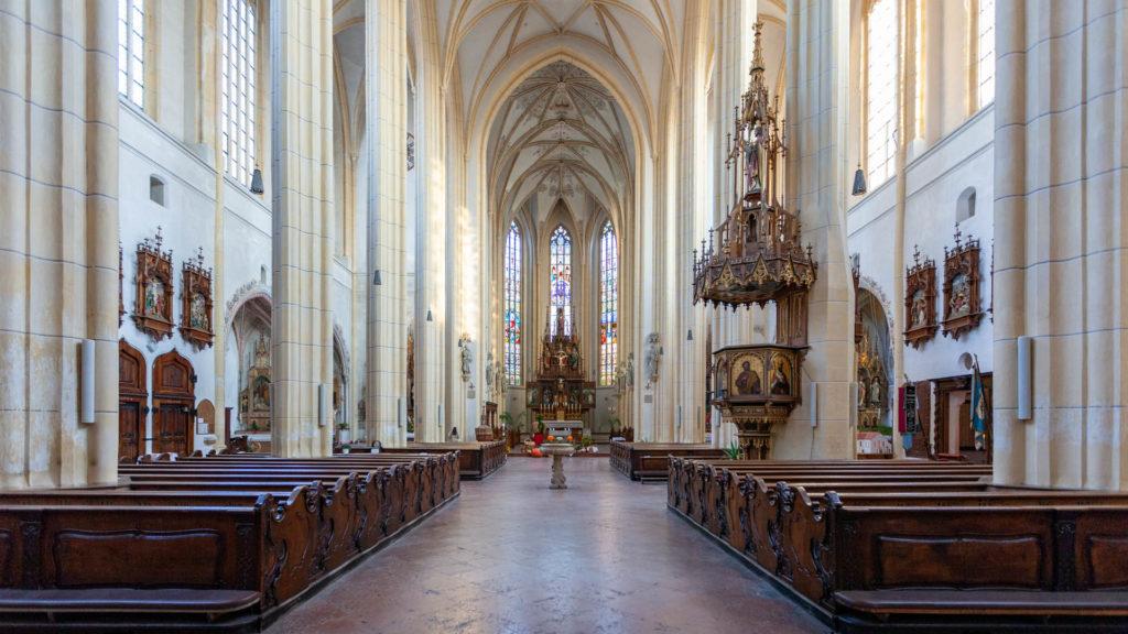 D_AÖ_Neuötting_03_Kirche St. Nikolaus Altaransicht (Dirschl Johann)